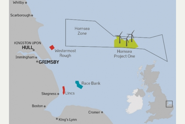 Dong Energy's post-2020 offshore wind project pipeline ... Hornsea Project