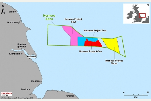 Dong Energy's post-2020 offshore wind project pipeline ... Hornsea Project One