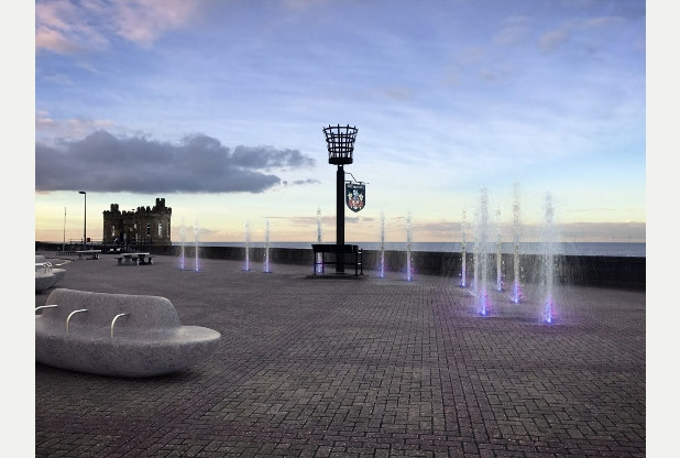 Withernsea Pavement Fountains Get The Go Ahead Humber